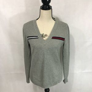 Tommy Hilfiger Large Gray Sweater